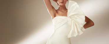 1600247068 Wedding dresses with maxi bow extravagant trend