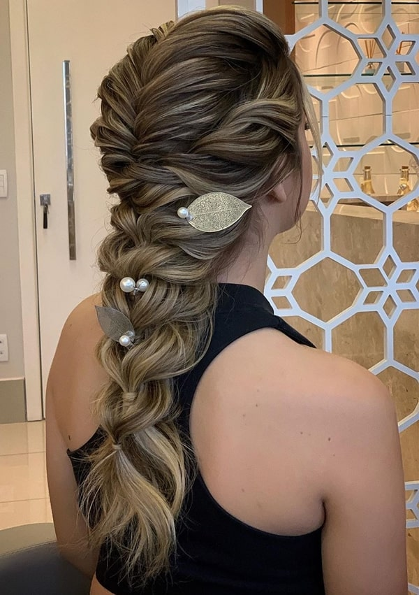 braid party hairstyle