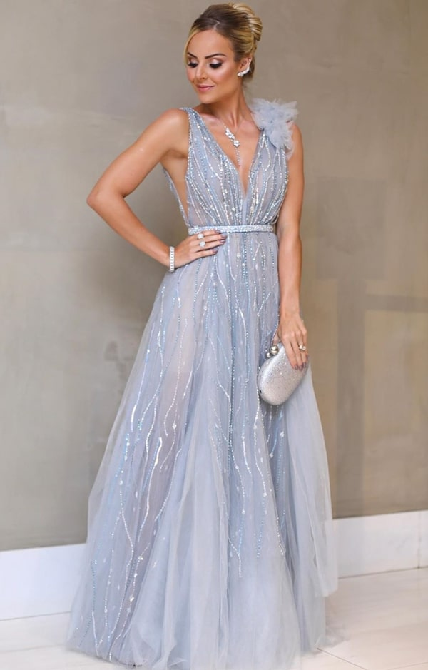 Layla Monteiro wedding party dress Thassia Naves
