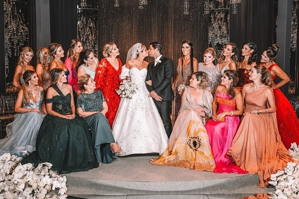 Bridesmaids of Thássia Naves
