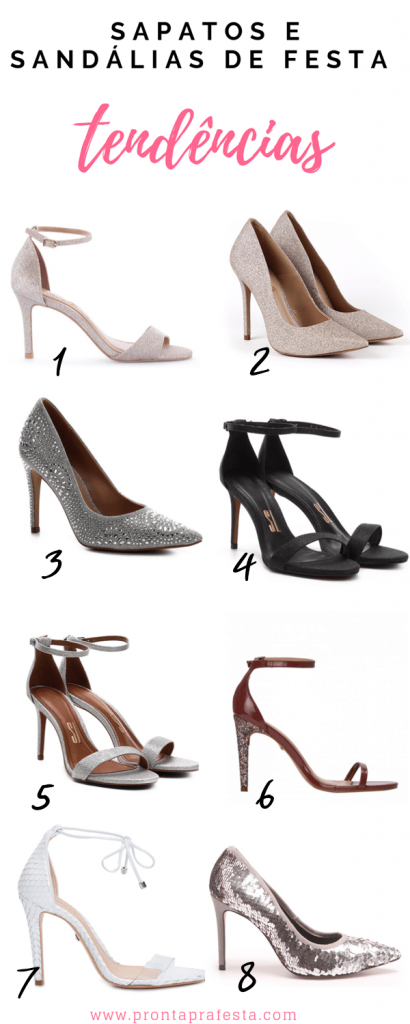 Party sandals: trends for bridesmaids and graduates 2020