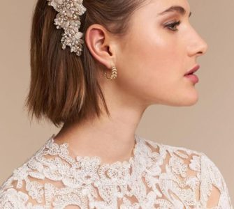 Amazing Hairstyles for Short Haired Brides