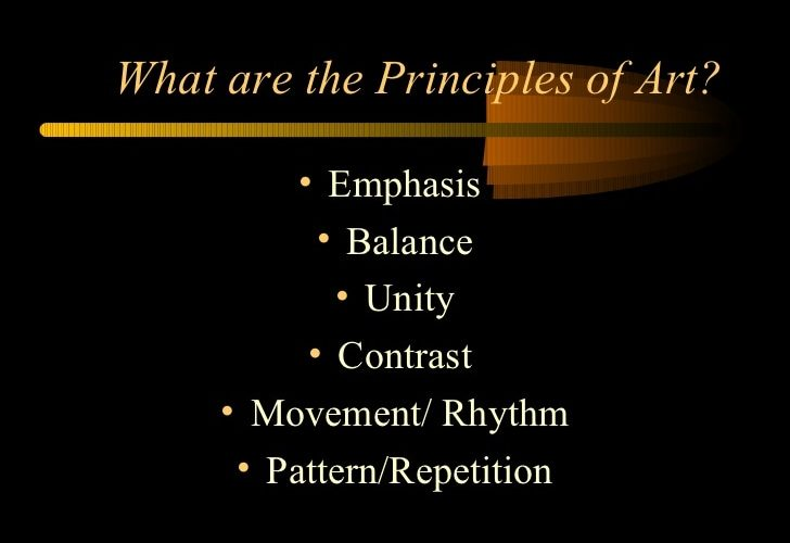 Are principles of photography important?