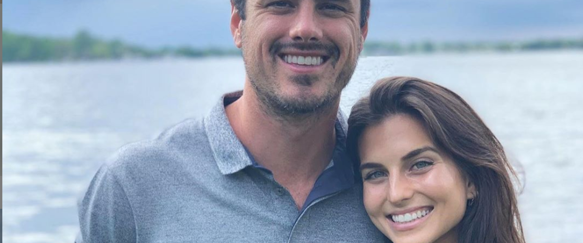 How did Ben Higgins meet his fiance?
