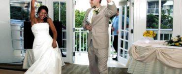 How do you introduce a wedding website?