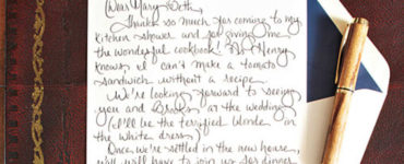 How do you write an elegant thank you note?