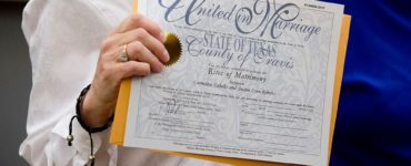 How much is a marriage certificate in Texas?