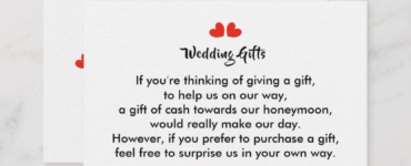 Is it tacky to ask for honeymoon money?