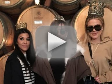 What Napa winery did the Kardashians go to?
