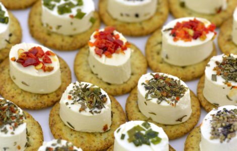 What are the 8 kinds of appetizer?