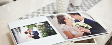 A photo album of your wedding
